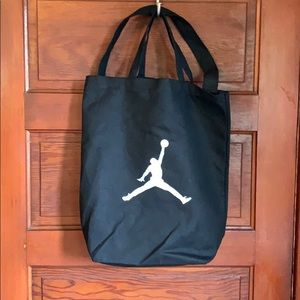 Canvas Nike jumpman tote